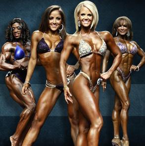 Les différentes catégories en musculation au féminin : bikini, fitness, figure, bodybuilding