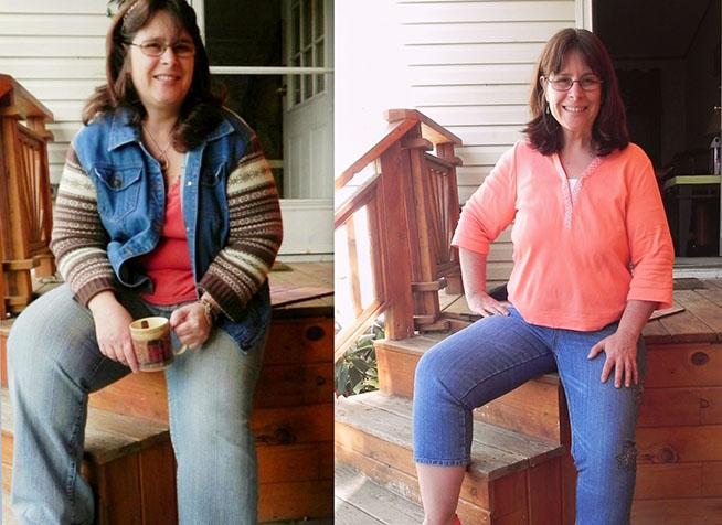 Corinna a perdu 45 kg et s'est débarrassé de ses migraines et des sa douleur à l'épaule