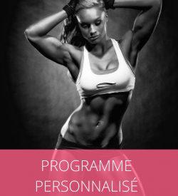Programme musculation nutrition femme sur-mesure coach