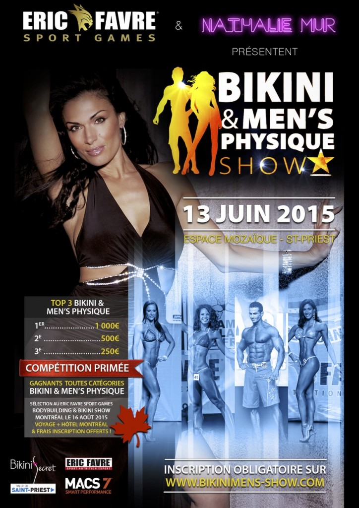 ERIC FAVRE SPORT GAMES – Bikini & Men's Physique Show 2015