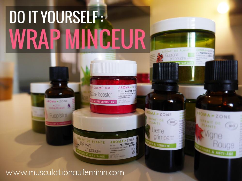 do it yourself le wrap minceur musculation au f 233 minin
