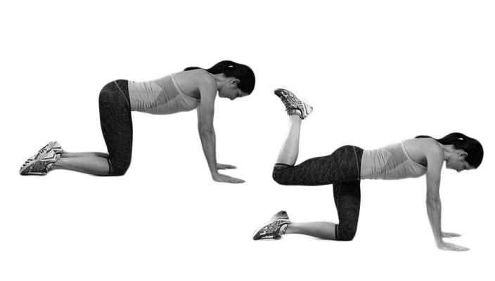 rear-butt-workout-Quadruped-Hip-Extensions-durablehealth