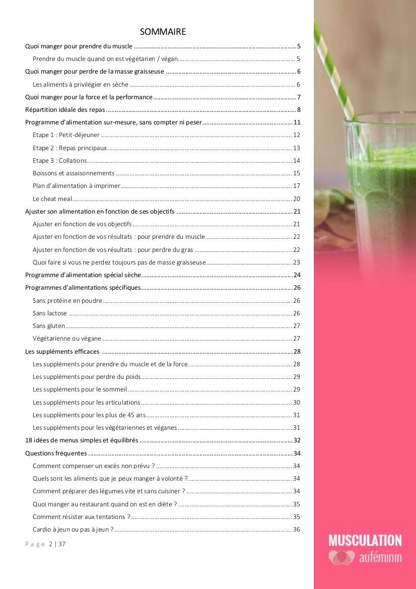 Guide-Alimentation-Musculationaufeminin-sommaire