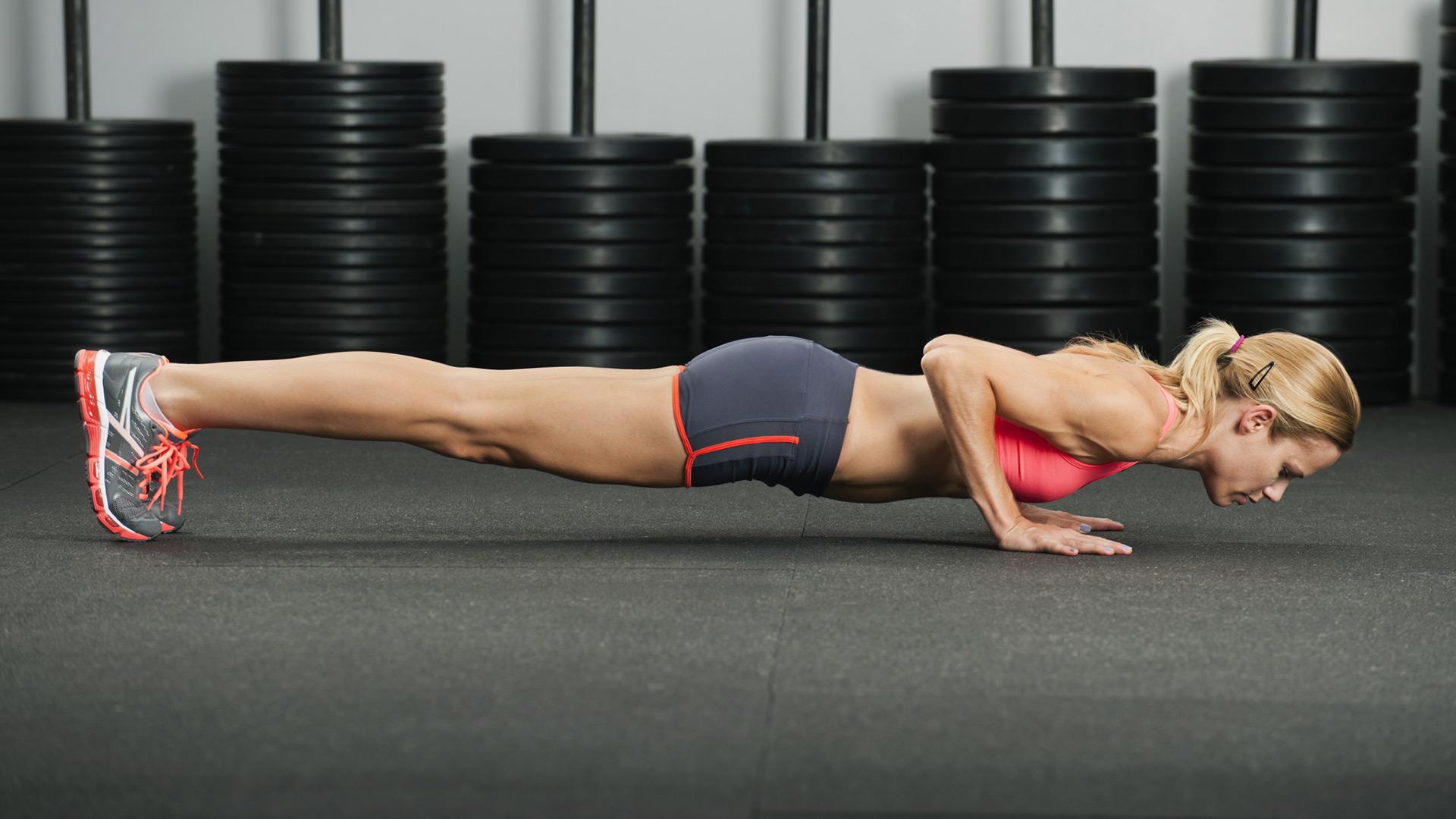 Female-push-up