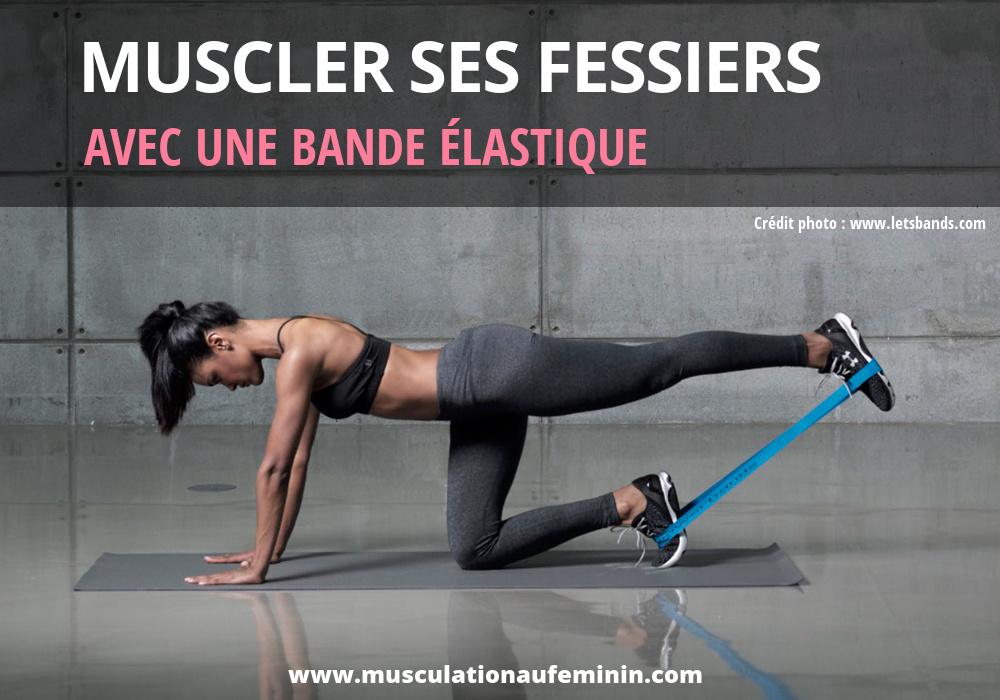 musculation-fessiers-bande-elastique-maison-femme