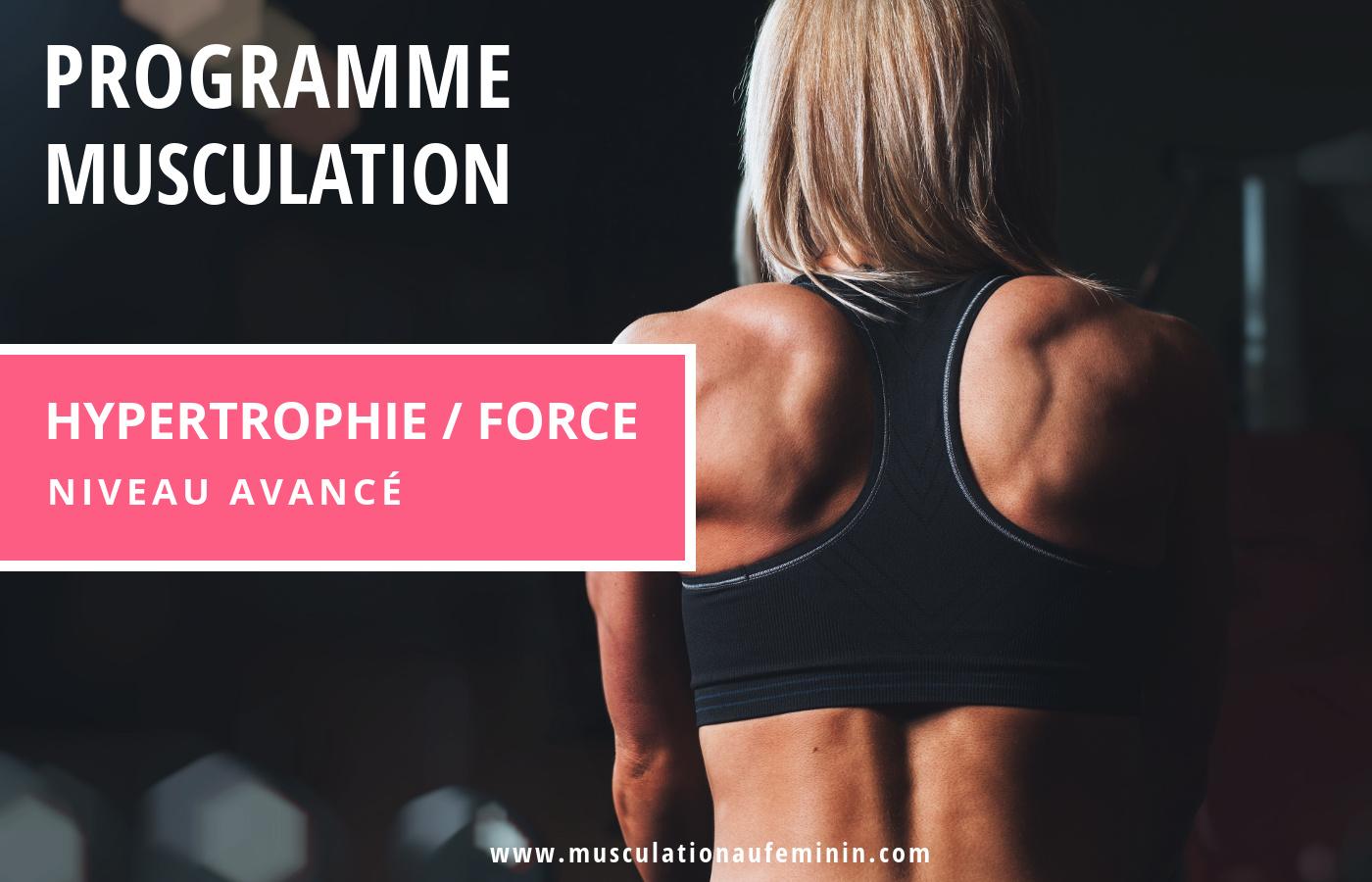 programme-musculation-femme-niveau-avance-force-hypertrophie