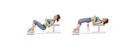 hip thrust au poids du corps