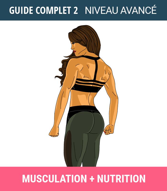 Bien-aimé Guide complet 2 – Musculation + Nutrition [Niveau avancé  QJ93