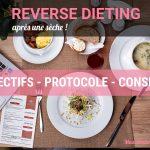 Le Reverse Dieting après une sèche