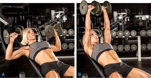 Programme musculation débutante salle de sport
