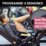 Programme de musculation pour femme en salle de sport – Niveau débutante