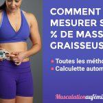 Comment calculer son IMG (indice de masse graisseuse) ?