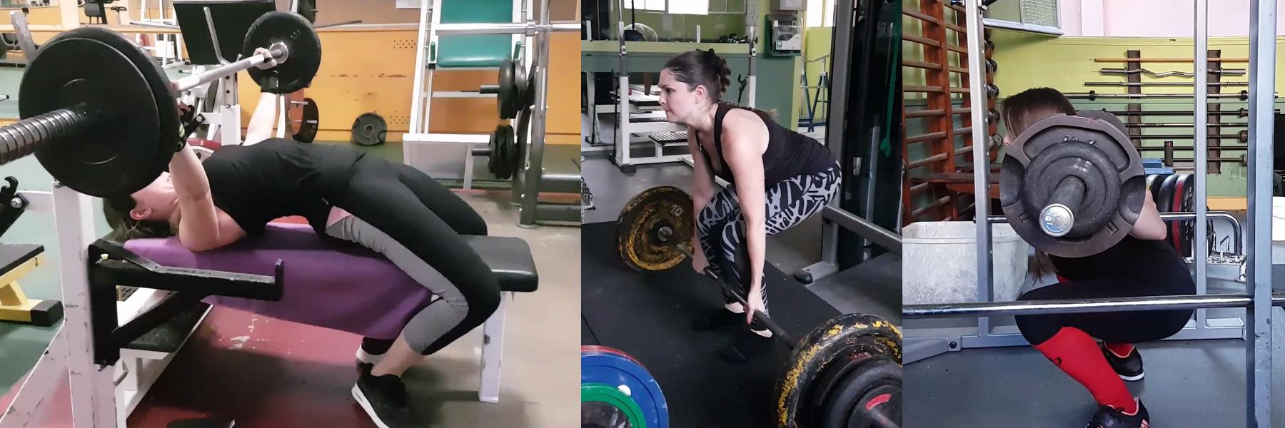 Force athlétique débutante femme