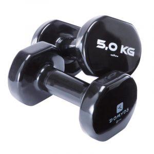 haltères 5 kg Decathlon femme