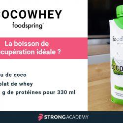 Cocowhey : la boisson de récupération par Foodspring