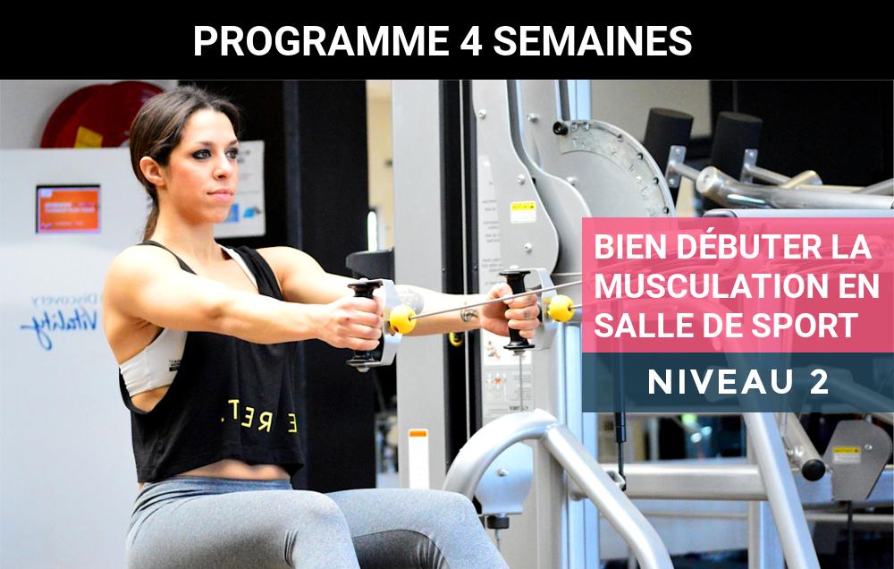 Programme De Musculation Pour Femme En Salle De Sport Debutante