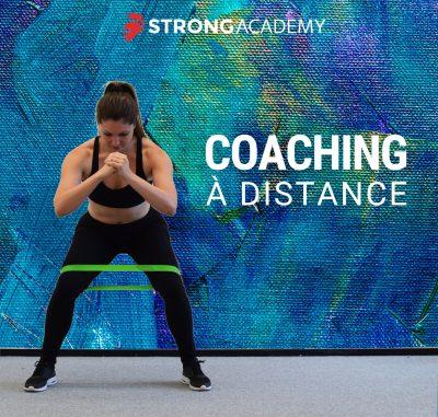 Coaching lyon femme à distance musculation force