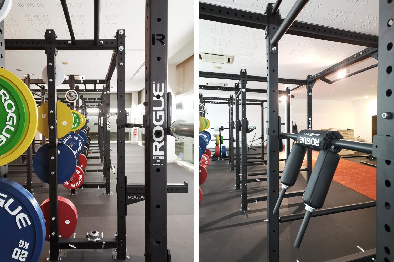 squat cage rogue